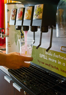 Soda Dispenser : New Hope Premier Fountain