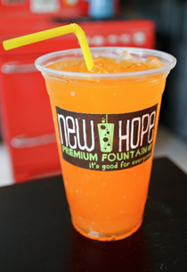 Orange Mango : Fountain Fizz