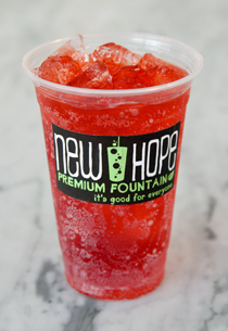 Watermelon Cream : Fountain Fizz